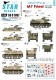 Star Decals 35-C1057 1/35 Israeli AFVs # 4. M7 Priest 105mm HMC.
