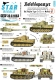 Star Decals 35-C1063 1/35 Befehlspanzer # 7. Bef.PzKpfw Tiger I and Tiger 2 of the Waffen-SS.