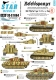 Star Decals 35-C1064 1/35 Befehlspanzer # 8. Bef.PzKpfw Tiger I and Tiger 2 of the Heer.