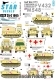 Star Decals 35-C1065 1/35 British FV432 and M548. Desert Storm (Op. Granby) 1991.