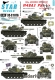Star Decals 35-C1076 1/35 M48A3 Patton. 69th Armoured Regiment in Vietnam.