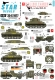 Star Decals 35-C1077 1/35 Polish Tanks in Italy 1943-45. Tanks, Halftrack, Jeep, Armoured Cars,