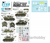 Star Decals 35-C1104 1/35 US Special Shermans - M32B2 TRV.