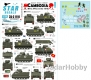 Star Decals 35-C1110 1/35 Cambodia # 1. M113 APC in the 1970s