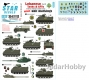 Star Decals 35-C1112 1/35 Lebanese Tanks & AFVs #5.