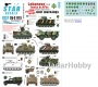 Star Decals 35-C1113 1/35 Lebanese Tanks & AFVs #6.