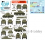 Star Decals 35-C1121 1/35 Shermans in Burma. British Mk V Shermans in Burma.