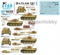 Star Decals 35-C1132 1/35 s.Pz.Abt. 507. Tiger I on the Eastern front.