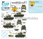 Star Decals 35-C1137 1/35 Korean War M4A3E8 Sherman # 2.
