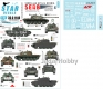 Star Decals 35-C1140 1/35 Tanks & AFVs in Bosnia # 5. Serbian T-55A tanks.