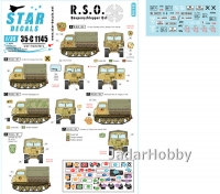 Star Decals 35-C1145 1/35 R.S.O. Raupenschlepper Ost R.S.O. / 01.
