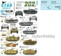 Star Decals 35-C1146 1/35 StuG-Abt. 202. StuG III Ausf B/E/F8/G and StuH 42.