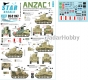 Star Decals 35-C1147 1/35 ANZAC # 1. Australian & NZ AFVs in Mid-East and Africa. M3 Stuart light tanks.