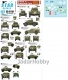 Star Decals 35-C1151 1/35 British Armoured Cars. Staghound, Humber SC, M3 White SC.