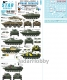 Star Decals 35-C1152 1/35 Naval Infantry # 4. Soviet and Russian PT-76, and BMP-1, BTR-80 Ukrainian Naval Inf.