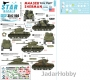 Star Decals 35-C1156 1/35 M4A3E8 Easy Eight Sherman. Easy Eight in Europe 1945.