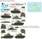 Star Decals 35-C1166 1/35 Korean War USMC Shermans. M4A3(105) Dozer, M4A3 Flame-tank, M4A3 'Porcupine*