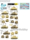 Star Decals 35-C1169 1/35 Sherman Mk II in 1942. British Sherman tanks in North Africa.