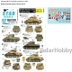 Star Decals 35-C1170 1/35 Sherman Mk II in 1943. British Sherman tanks in North Africa.