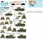 Star Decals 35-C1174 1/35 Spanish Civil War # 6. Kl. Befehls Pz I Ausf B and BT-5.