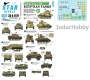 Star Decals 35-C1179 1/35 Middle East 1948 # 1. Egyptian tanks. Mixed tanks and AFVs