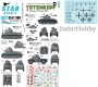Star Decals 35-C1180 1/35 SS-Totenkopf. Invasion of France 1940. PzKpfw 35(t), S-35 Somua, Panhard 178