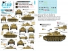 Star Decals 35-C1184 1/35 Fall Blau and Stalingrad # 2. Pz.Abt. 103, 3. Infanterie Div. and Pz.Abt. 116, 16. Infanterie Div.