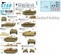 Star Decals 35-C1185 1/35 Berlin # 4. SdKfz 251/9 Stummel, StuG III Ausf G, Borgward PzJg Wanze.