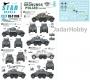 Star Decals 35-C1186 1/35 Ordnungs Polizei # 1. ADGZ 8x8 Armoured Car. Anti Partisan and security service.
