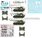 Star Decals 35-C1190 1/35 Korean War - US Artillery # 2. Arkansas Long Toms. M40 155mm Long Tom.
