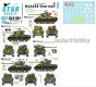 Star Decals 35-C1191 1/35 Korean War - US M4A3E8 Sherman # 3.