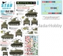 Star Decals 35-C1193 1/35 Australia Tanks & AFVs # 5. Battle of Buna 1942. Stuart M3 Light Tank and Bren Carrier.