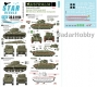 Star Decals 35-C1194 1/35 Australia Tanks & AFVs # 6. Matilda Frog Flame tank, M4 Sherman and M4 Sherman Composite.