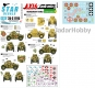 Star Decals 35-C1195 1/35 Axis & East European Tank mix # 5. Hungarian tanks in WW2, 39.M Czaba Armoured Car.