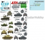 Star Decals 35-C1196 1/35 Axis & East European Tank mix # 6. Hungarian tanks in WW2. Mixed tanks.