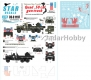 Star Decals 35-C1197 Vietnam Gun Trucks # 4.