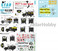 Star Decals 35-C1200 1/35 Vietnam Gun Trucks #7