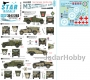 Star Decals 35-C1203 1/35 Allied M3A1 White Scout Car (Poland, NZ, South Africa, Britain)