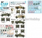 Star Decals 35-C1204 1/35 Free French M3A1 Scout Car. Italy, Corsica, France 1943-45.