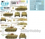 Star Decals 35-C1210 1/35 German Tanks in Italy #10. StuG II Ausf G, Tiger I Late, Nashorn