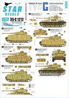 Star Decals 35-C1212 1/35 PzKpfw IV Ausf G. Late production Ausf G on the Eastern Front 1943-44