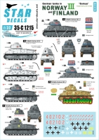 Star Decals 35-C1215 1/35 German Tanks in Norway & Finland # III. Beute-Somua tanks. PzKpfw 35 S 735 (f)