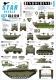 Star Decals 35-C1218 1/35 Indochine # 3. The Foreign Legion - M29C Crabe, Greyhound, M5A1 Stuart, LVT-4, LVT(A)-4