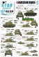 Star Decals 35-C1219 1/35 Indochine # 4. M24 Chaffee / Bison. 1er R.C.C. in Dien Bien Phu, and R.I.C.M. markings