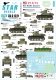 Star Decals 35-C1221 1/35 M3 and M3A1 Stuart. US Army in the Pacific. Philippines, Bougainville, Kwajalein, Makin / Tarawa