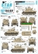 Star Decals 35-C1225 1/35 Israeli AFVs # 8. 1967 Six-Day War. M1 Super Sherman