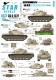 Star Decals 35-C1227 1/35 Israeli AFVs # 10. 1967 Six-Day War. M48 Magach / M48A2 Patton
