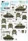 Star Decals 35-C1230 1/35 US M4 Sherman. 75th-D-Day-Special. Normandy and France in 1944