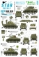Star Decals 35-C1231 1/35 US M4A1 Sherman. 75th-D-Day-Special. Normandy and France in 1944