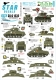 Star Decals 35-C1232 1/35 US 37th Tank Battalion. 75th-D-Day-Special. Normandy and France in 1944